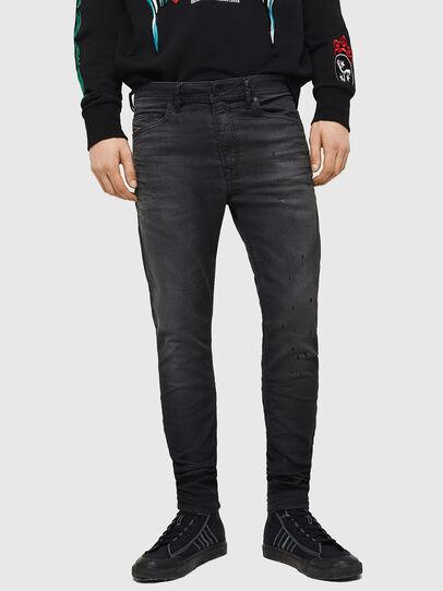 Diesel - Spender JoggJeans 069GN, Black/Dark grey - Jeans - Image 1
