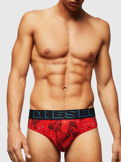 Diesel - UMBR-ANDRE, Red - Briefs - Image 1