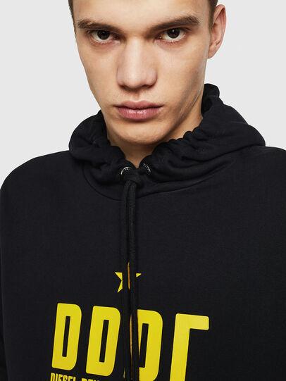 Diesel - S-GIR-HOOD-A1, Black - Sweaters - Image 3