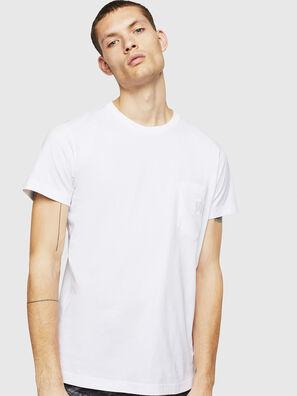 T-DIEGO-POCKET-B1, White - T-Shirts