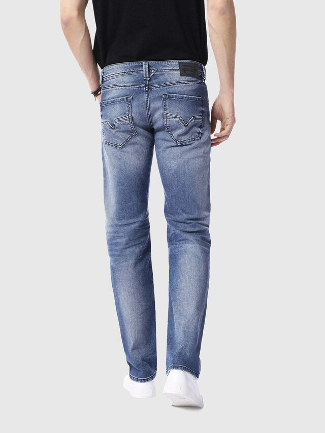 Diesel - Larkee 0853P, Medium blue - Jeans - Image 2