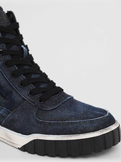 Diesel - S-RUA MID, Blue - Sneakers - Image 5