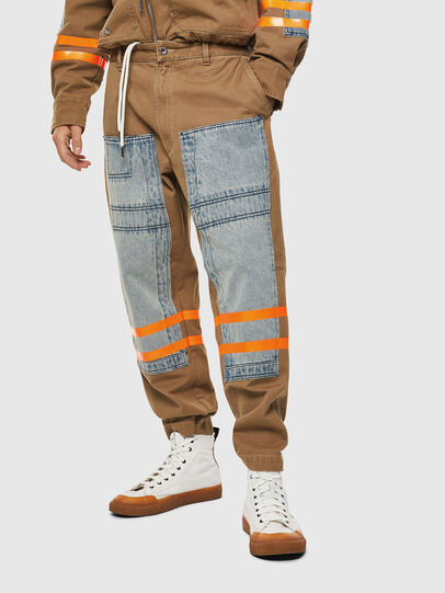 Diesel - P-CARUSO, Light Brown - Pants - Image 1