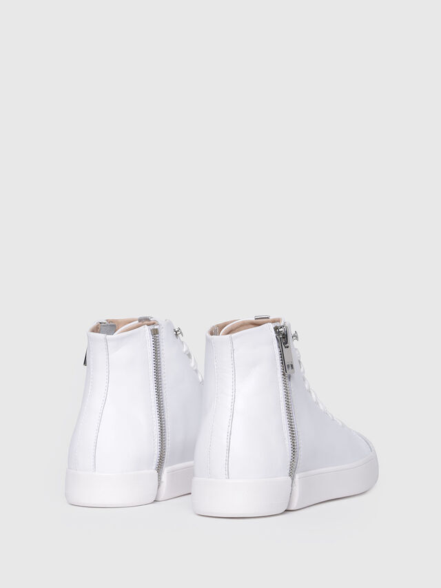 Diesel - S-NENTISH MC W, White - Sneakers - Image 3