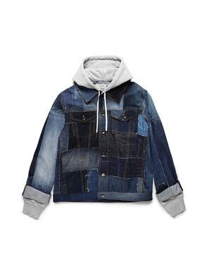 D-OWNHILL55, Medium blue - Denim Jackets