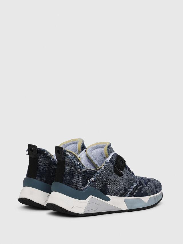 Diesel - S-BRENTHA LC, Blue Jeans - Sneakers - Image 3