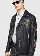 L-JUNER, Black - Leather jackets
