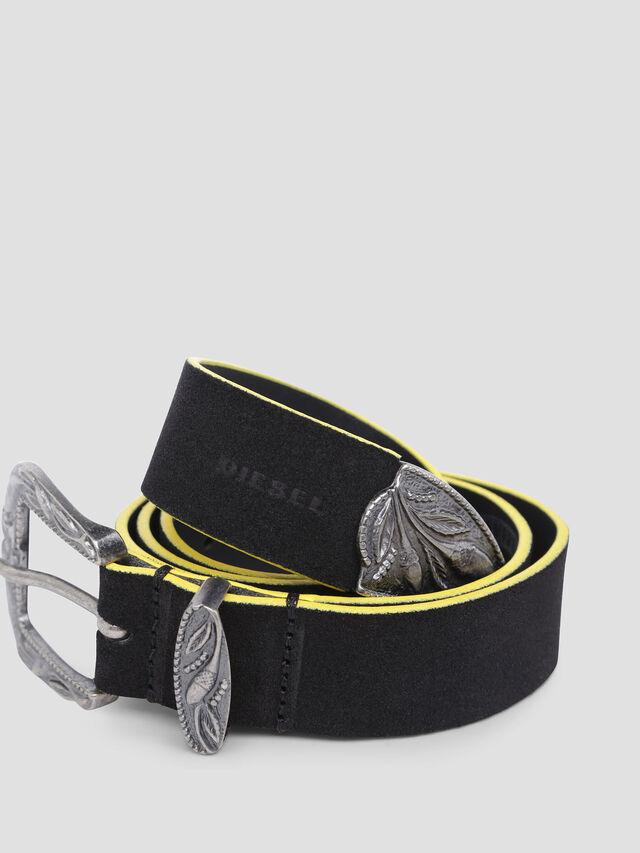 Diesel - B-CALTO, Black/Yellow - Belts - Image 2