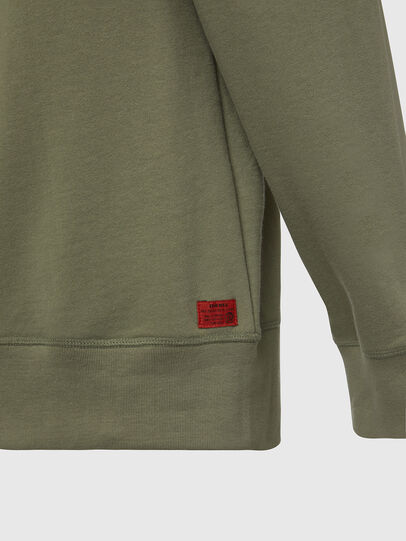 Diesel - UMLT-WILLY, Olive Green - Sweaters - Image 4