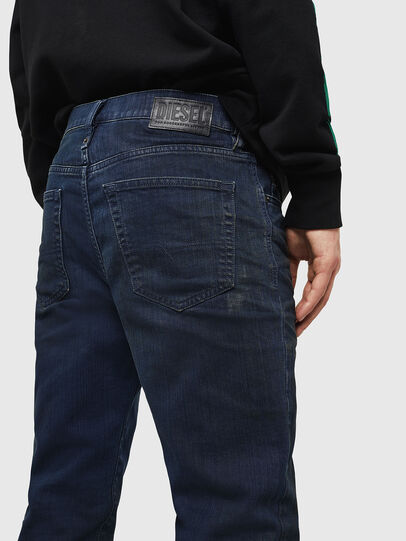 Diesel - Mharky 0078D, Dark Blue - Jeans - Image 4