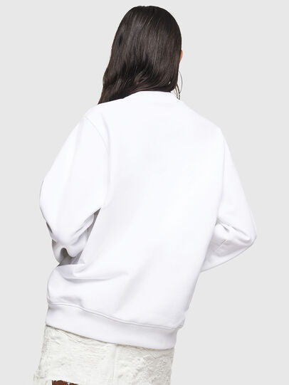 Diesel - F-ANG, White - Sweaters - Image 2