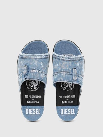 Diesel - SA-GRAND OT, Blue Jeans - Slippers - Image 4