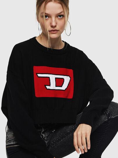 Diesel - M-LINDA, Black/Red - Knitwear - Image 5