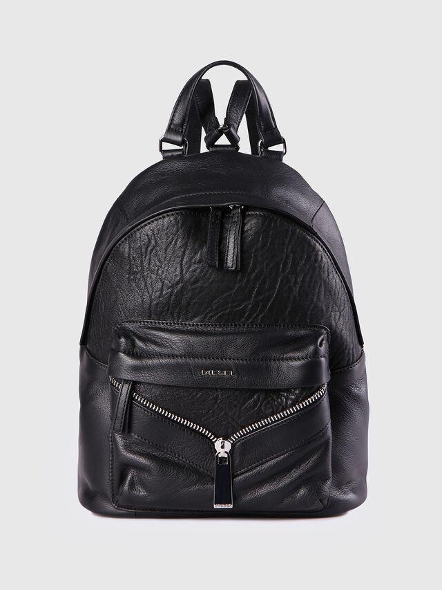 Diesel - LE-ONY, Black - Backpacks - Image 1