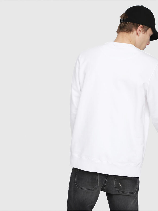 Diesel - S-GIR-DIE, White - Sweaters - Image 2