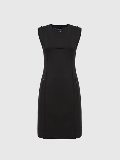 Diesel - D-PHILO, Black - Dresses - Image 1