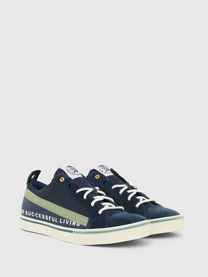 Diesel - S-DVELOWS LOW, Multicolor/Blue - Sneakers - Image 2