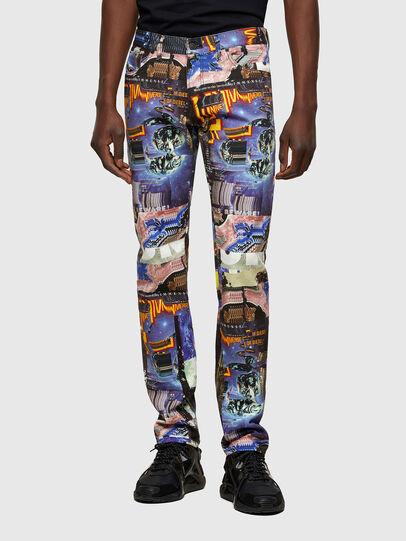 Diesel - D-Kras 009VB, Multicolor - Jeans - Image 1