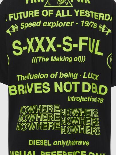 Diesel - T-BALL-X2, Black - T-Shirts - Image 3