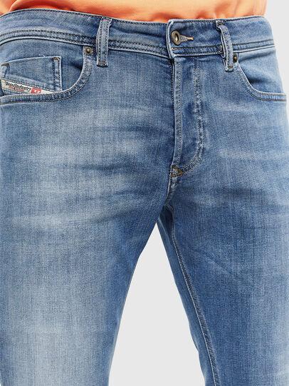 Diesel - Sleenker 0095G, Light Blue - Jeans - Image 3