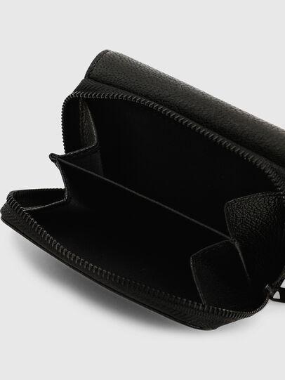 Diesel - SPEJAP, Black/Green - Small Wallets - Image 7