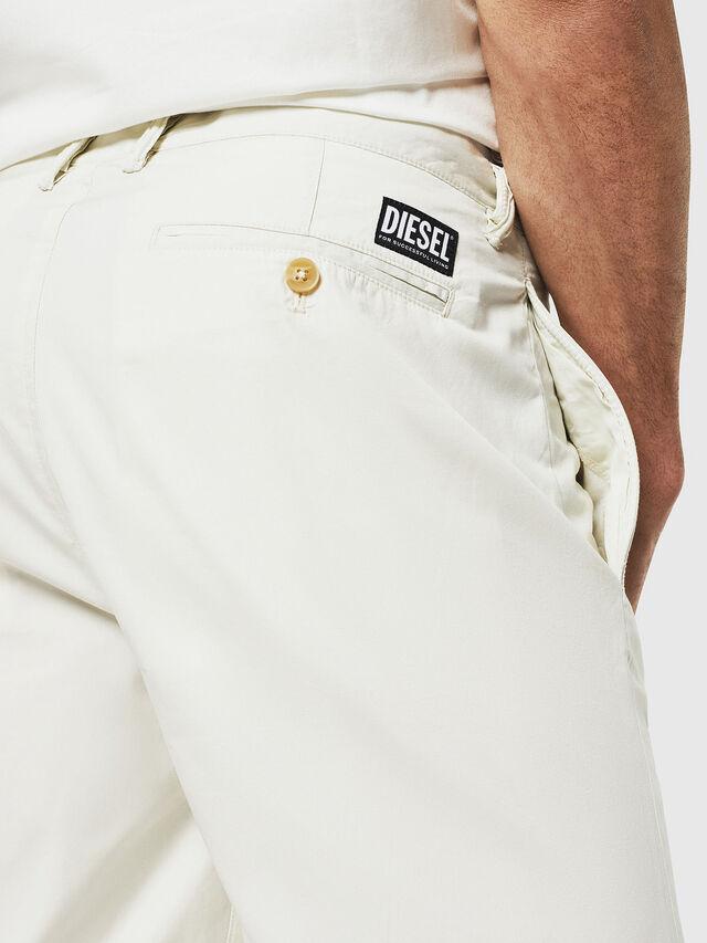 Diesel - P-WHOLSHO, White - Shorts - Image 3