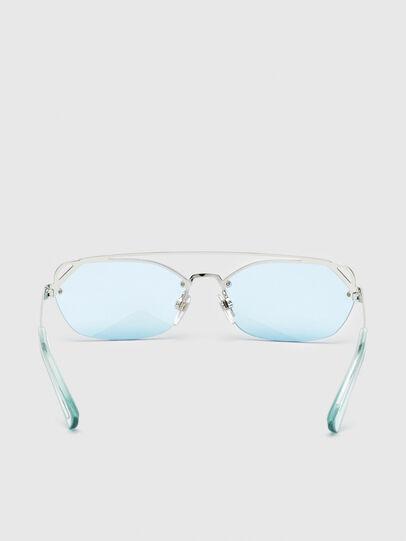 Diesel - DL0313, White/Red - Sunglasses - Image 4