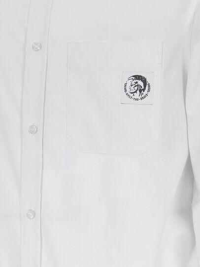 Diesel - S-BILL-POCKET, White - Shirts - Image 3