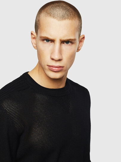Diesel - K-RIO, Black - Knitwear - Image 3