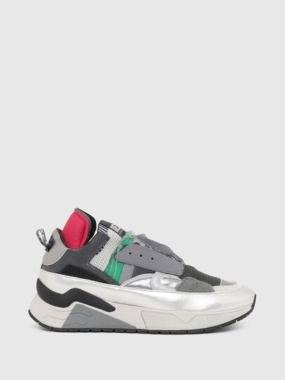 Diesel - S-BRENTHA DEC, Grey - Sneakers - Image 1
