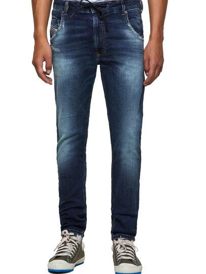 Diesel - Krooley JoggJeans® 069YF, Dark Blue - Jeans - Image 1