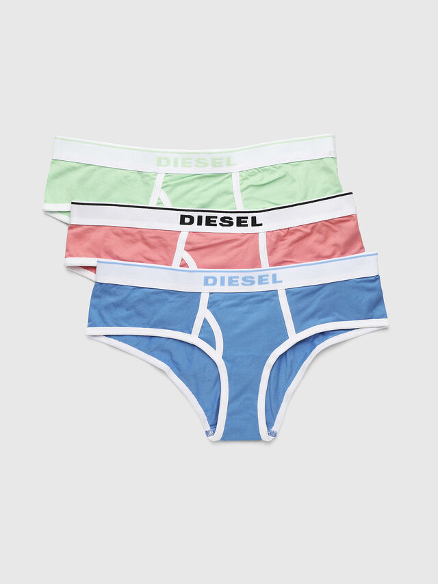 Diesel - UFPN-OXY-THREEPACK, Pink/White - Panties - Image 1