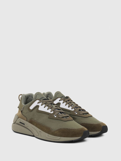 Diesel - S-SERENDIPITY LC, Olive Green - Sneakers - Image 2