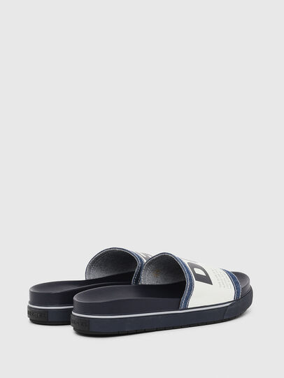 Diesel - SA-GRAND SLIDE, Blue/White - Slippers - Image 3