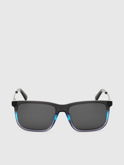 Diesel - DL0309, Black/Blue - Sunglasses - Image 1