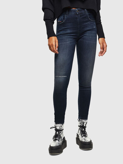 Diesel - Slandy High 0870C, Dark Blue - Jeans - Image 1