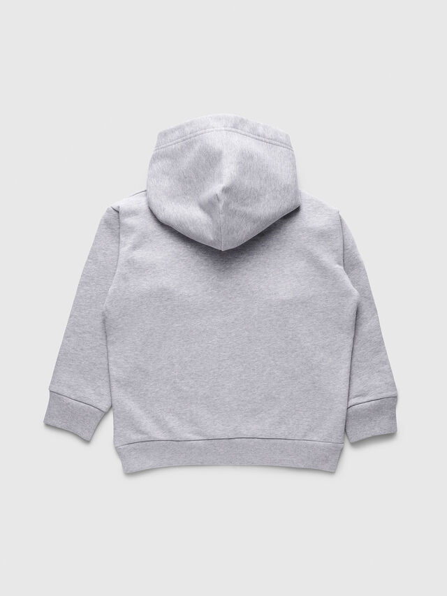Diesel - SDIVISION OVER, Grey - Sweaters - Image 2
