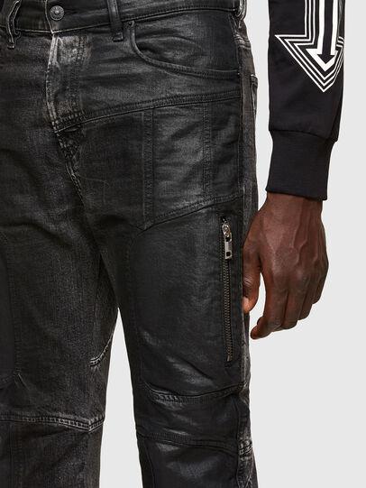 Diesel - D-Vider 009QZ, Black/Dark grey - Jeans - Image 3