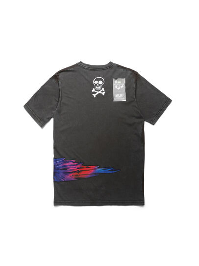 Diesel - D-5055-G, Black - T-Shirts - Image 2
