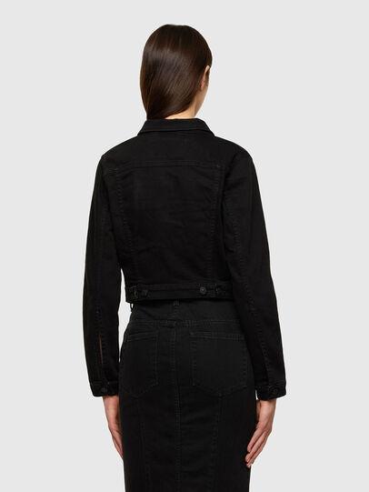 Diesel - DE-BLONDY, Black - Denim Jackets - Image 2