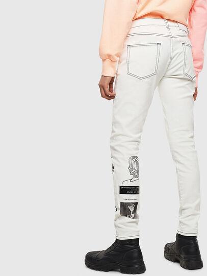 Diesel - D-Strukt 009BF, White - Jeans - Image 2