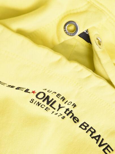 Diesel - SGIMHOODA, Light Yellow - Sweaters - Image 3