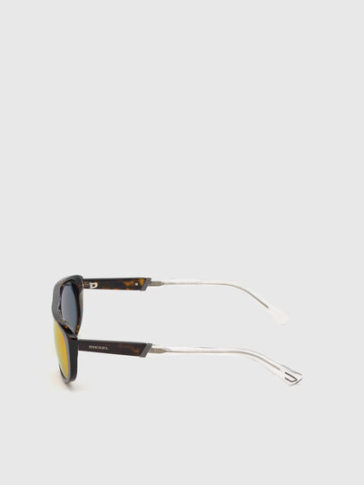 Diesel - DL0306, Brown/White - Kid Eyewear - Image 3
