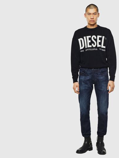 Diesel - D-Bazer 0095W, Dark Blue - Jeans - Image 5