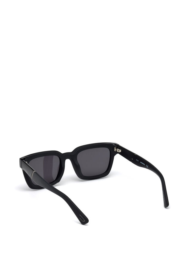 Diesel - DL0231, Black - Sunglasses - Image 2