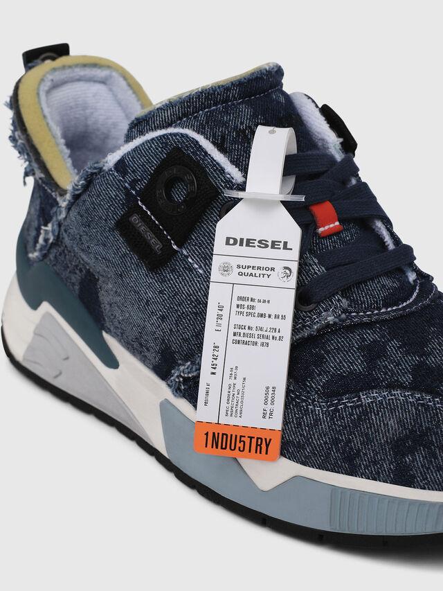 Diesel - S-BRENTHA LC, Blue Jeans - Sneakers - Image 4