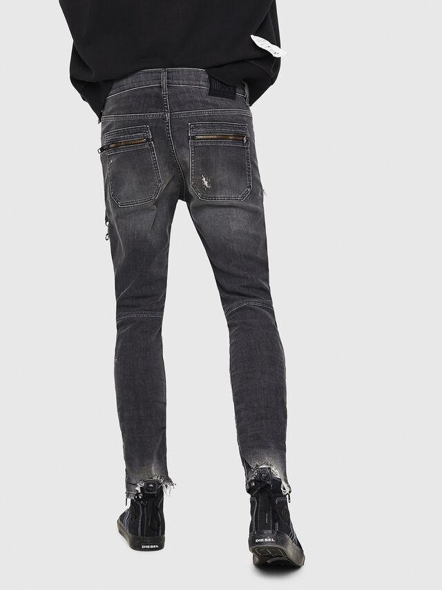 Diesel - D-Phormer 069DM, Black/Dark grey - Jeans - Image 2