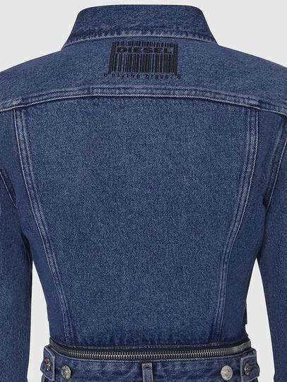 Diesel - DE-BLOCHY, Medium blue - Denim Jackets - Image 5