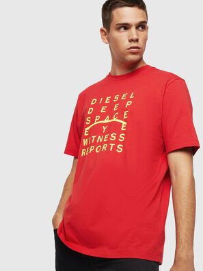T-JUST-J5, Red - T-Shirts