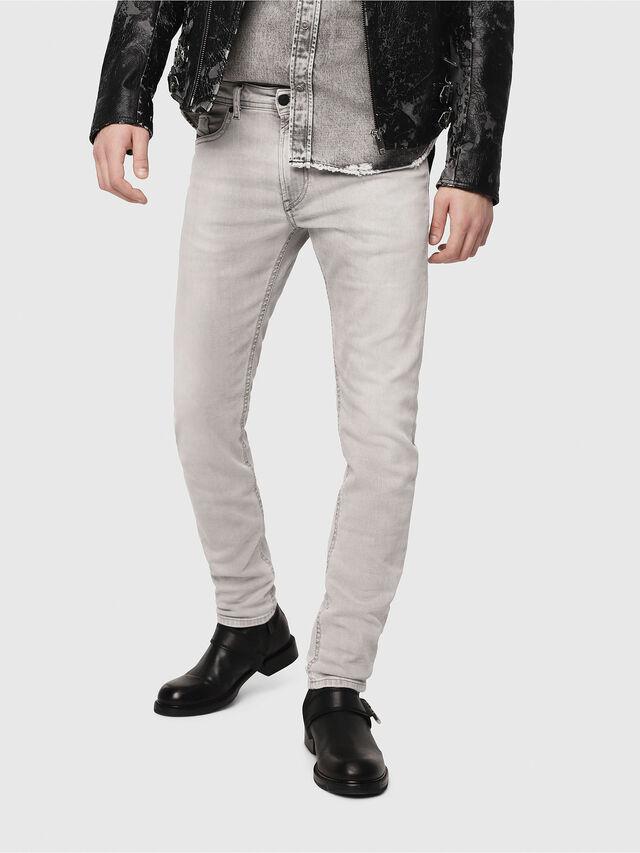 Diesel Thommer 0684I, Light Grey - Jeans - Image 1